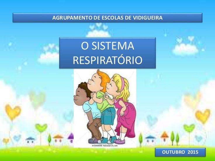 Apresentação sobre o sistema respiratório 3º ano