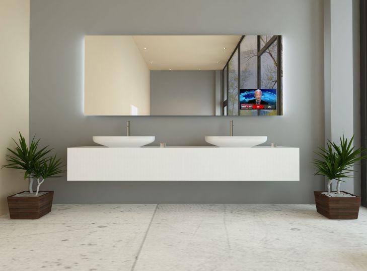 Tv Spiegel Troja Spiegel Mit Beleuchtung Spiegel Badspiegel