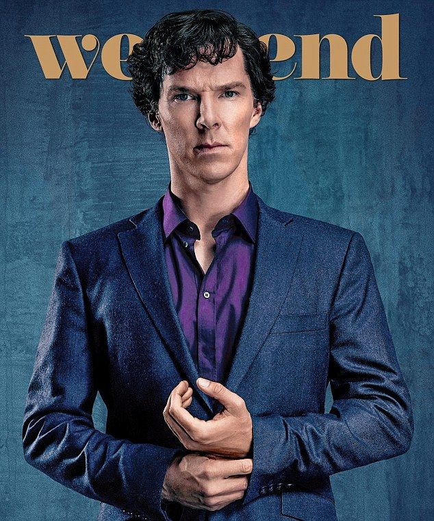 Benedict, who appears on the cover of this week's Weekend magazine, will be reunited with Martin Freeman who plays Watson