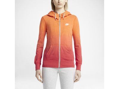 Nike Gym Vintage Dip Dye Full-Zip Women's Hoodie