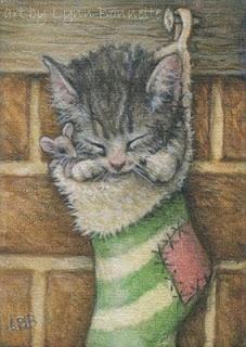 """Art by Lynn Bonnette: """"A Christmas Wish"""""""