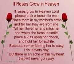 mother's day tribute for deceased mother - Google Search