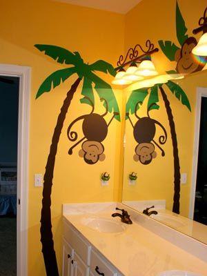 13 best monkey bathroom images on pinterest monkey bathroom rh pinterest com monkey bathroom ideas