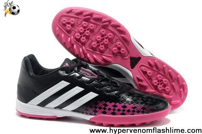 Wholesale Cheap Black White Pink 2013 adidas Predator TF Football Boots Store
