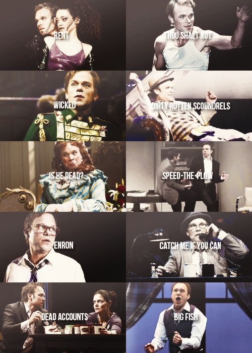 norbert leo butz' broadway credits ...I hope I can see him performing someday