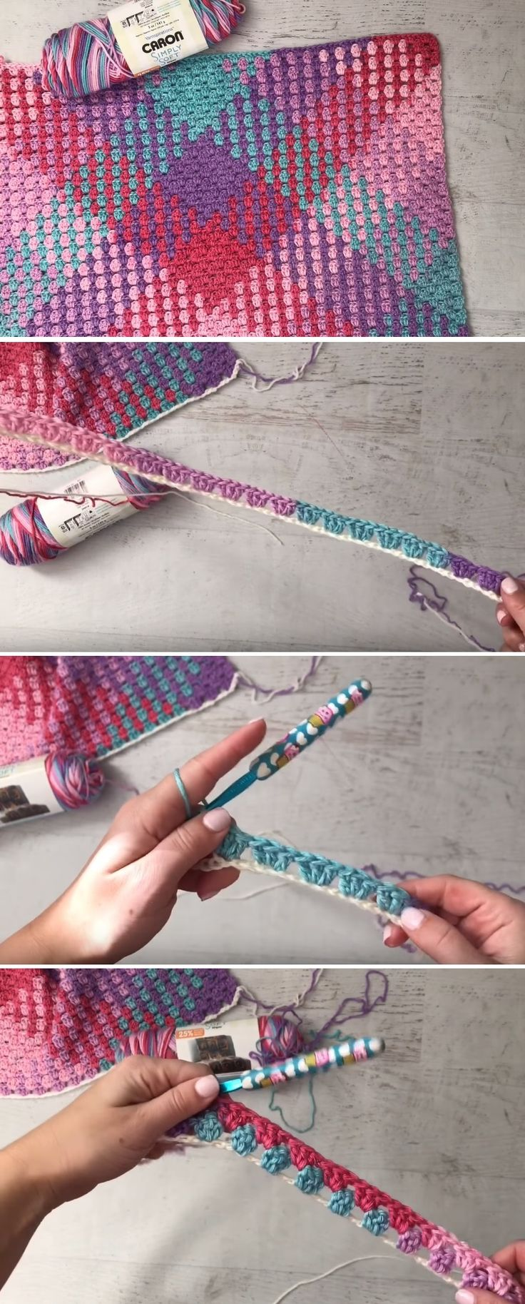 Color Pooling Tutorial There are plenty of techniques that should be mastered before you consider yourself a profound crochet specialist. Some skills … – food-and-drinks