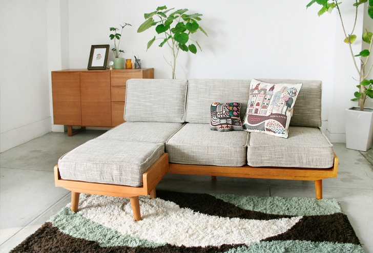 ALBERO(アルベロ) カバーリングソファ 3シーター   インテリアショップ[unico]:家具/インテリア/ソファ/ラグ等の販売。
