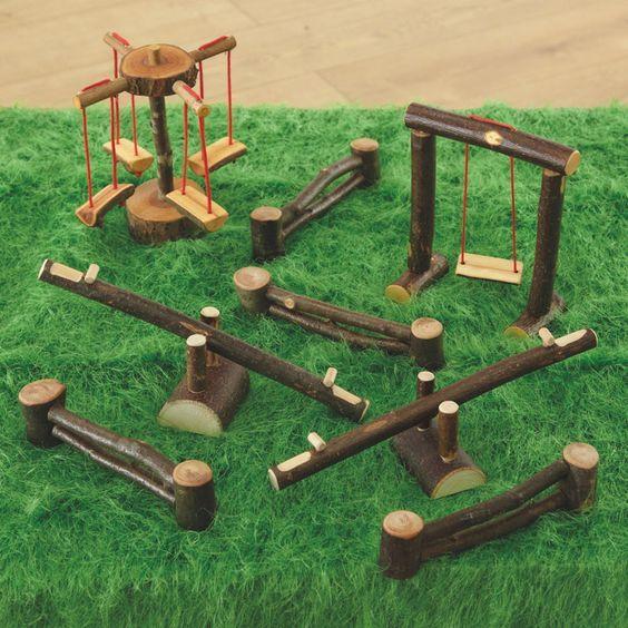 Resultado de imagem para miniaturas parque infantil
