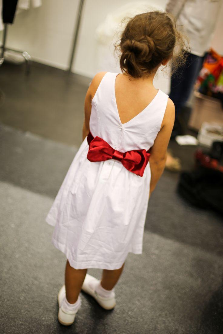 Clipshirt noeud papillon pour demoiselles d'honneur. Accessoires coordonnés sur-mesure pour mariage