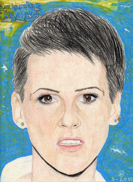 Kasia Oetelaar Art: Portret / Portrait Agnieszka Chylińska