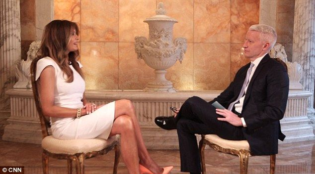 Melania Trump sat down with Anderson Cooper on the eve of Super Tuesday in her second ever solo interview