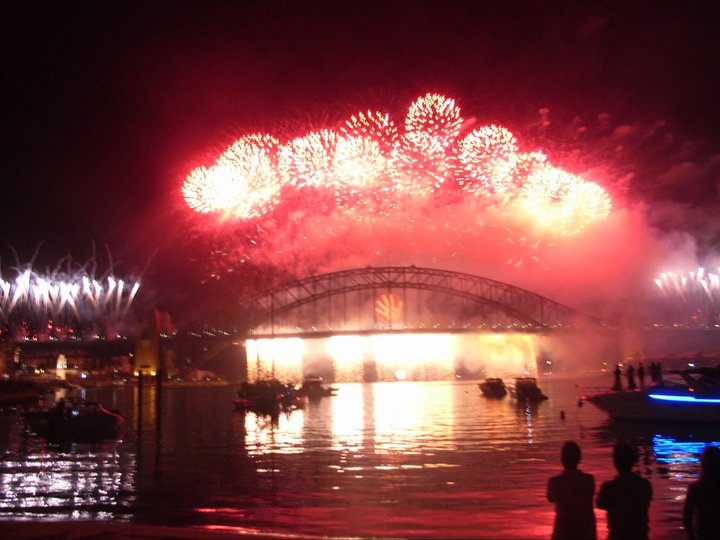 New Year's Eve. Sydney, Australia