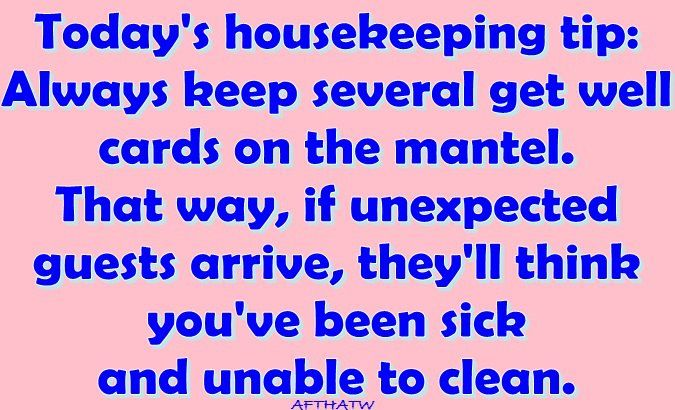 Great household tip!