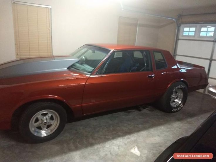 1985 Chevrolet Monte Carlo #chevrolet #montecarlo #forsale #canada