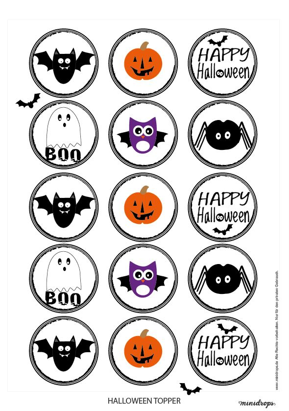 125 best FREE Halloween Printables images on Pinterest | Free ...