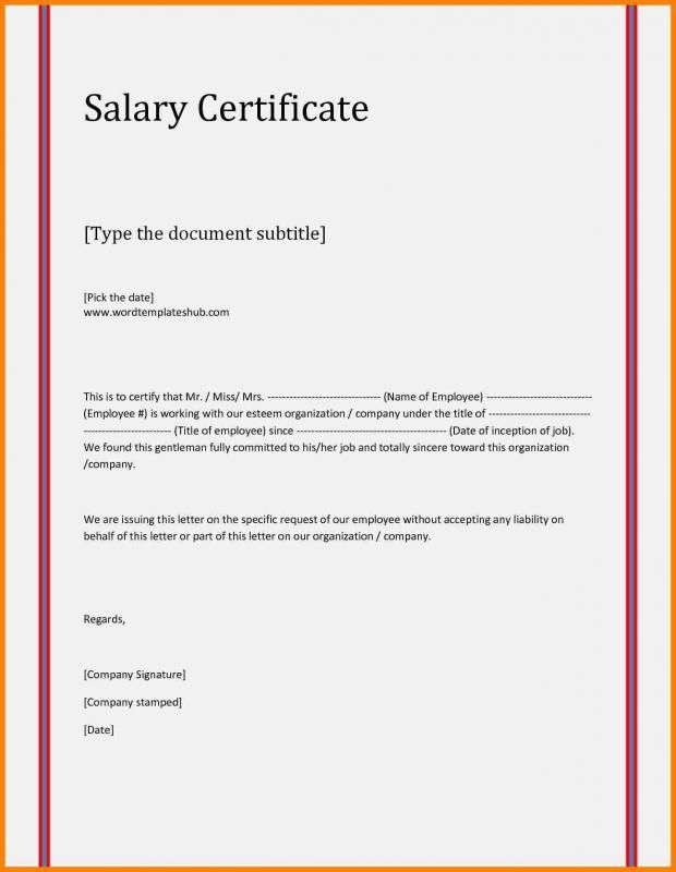 Custody Agreement Template In 2020 Certificate Format Job Letter Salary