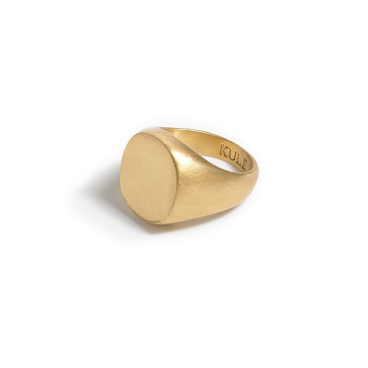 Every girl needs a signet ring, and this one is perfect.