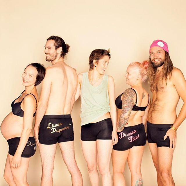 Pimp My Booty turns your love message into a gift - pair of high quality underpants with your own words printed on. What a cute way to show your feelings!😍 Pimp My Booty's Gift Hipsters and Boxers are super comfy and made of luxurious, silky bamboo. They are sewn and hand printed in Finland.  QUALITY, LOCAL PRODUCTION, GOOD FEELINGS  Me We (est. 2011) is a Helsinki-based small company specialized in customized love gifts. The idea is to offer special gifts that are usable, durable and…