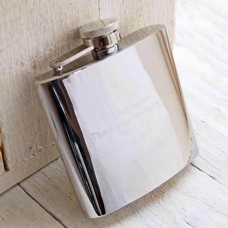 personalised hip flask by highland angel | notonthehighstreet.com