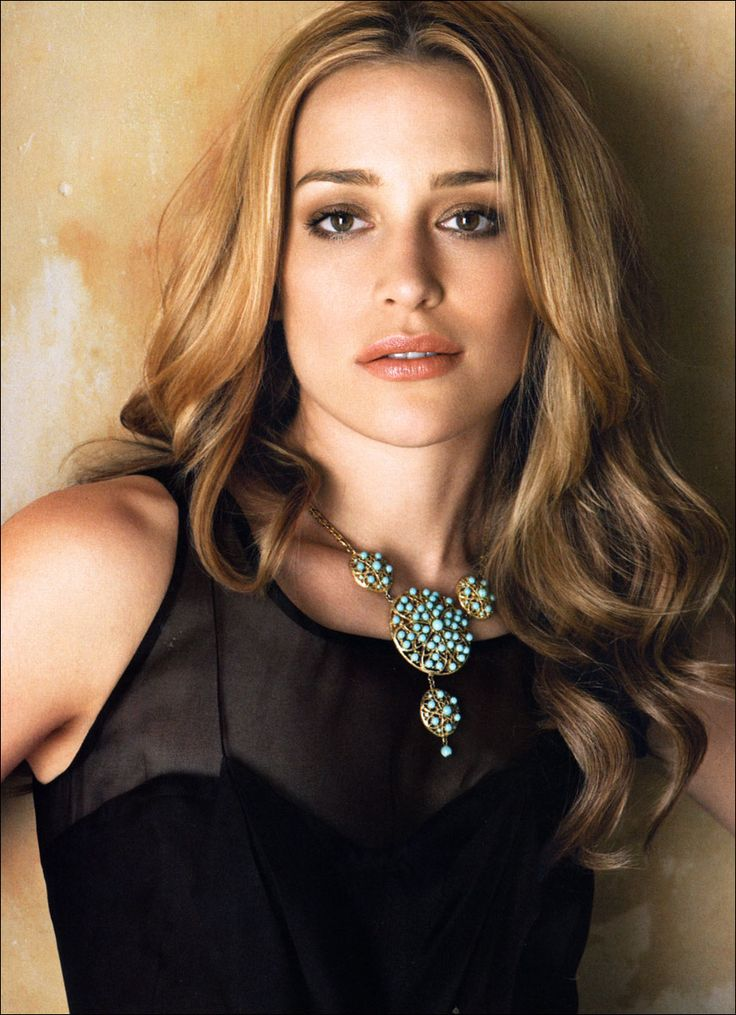 Piper Perabo. I loved her in Coyote Ugly and she's also good in Covert Affairs on USA