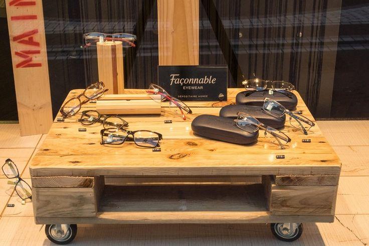 Couchtische - Couchtisch 5 aus alter Industriepalette - ein Designerstück von atelier-schatztruhe bei DaWanda
