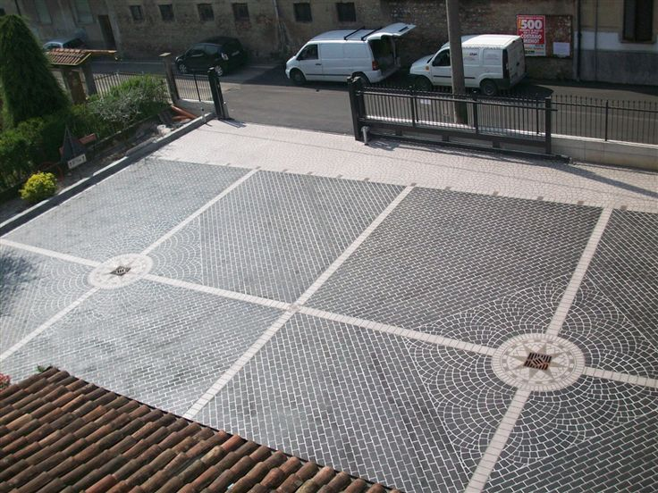 Pavimento antiscivolo per esterni fresco su indurito realizzato su fondi esistenti