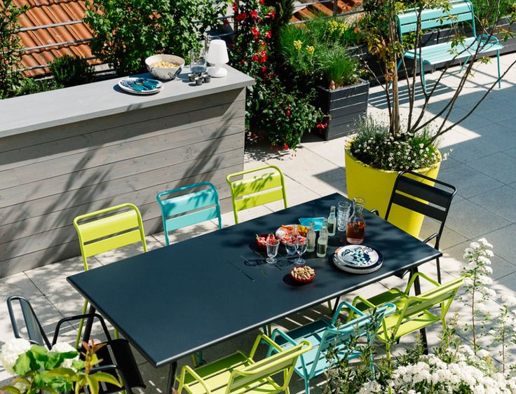 37 best Fermob images on Pinterest Backyard furniture, Balconies - lounge mobel garten