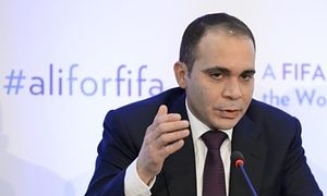 Prince Ali bin al-Hussein requests postponement of Fifa presidential election