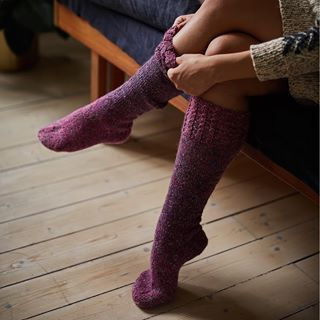 Fall in love with our autumn novelty Novita 7 Veljestä Pohjola, yarn inspired by the Nordic landscape! ��See all the lovely colours at novitaknits.com 📷 @krista_keltanen #novitaknits #novita7veljestäpohjola #finnishdesign #woollensocks #instaknit #knitting #yarn #sticka #garn #lanka #neulonta #raggsockor #villasukat