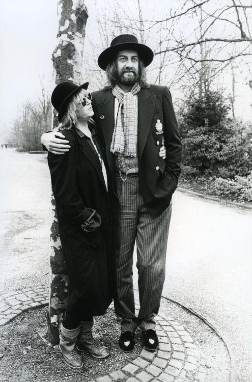 Christine McVie, Mick Fleetwood 1987