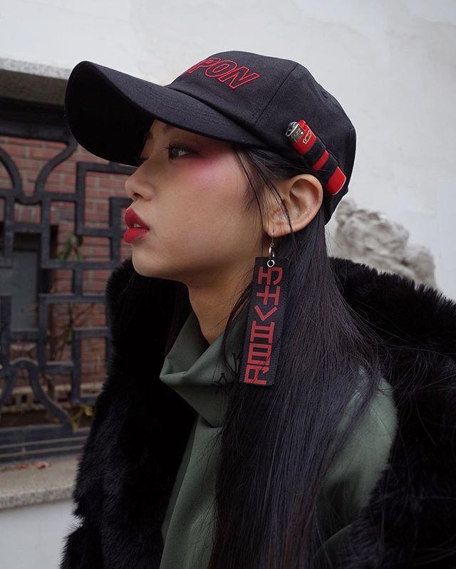 - Double strap cap (bk) MORETHANDOPE.COM #morethandope