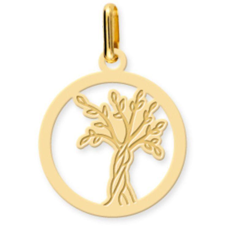 Medaille Arbre de vie or jaune PremierBijou Médaille Arbre de vie ajourée (or jaune 18ct) €96