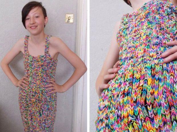 rubber band dress