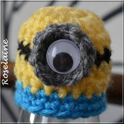 Roselaine 045 Bonnet Innocent minion Pascale