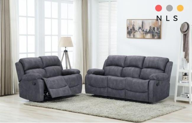 Alaska Collection In 2020 Fabric Sofa Sofa Suites Reclining Sofa