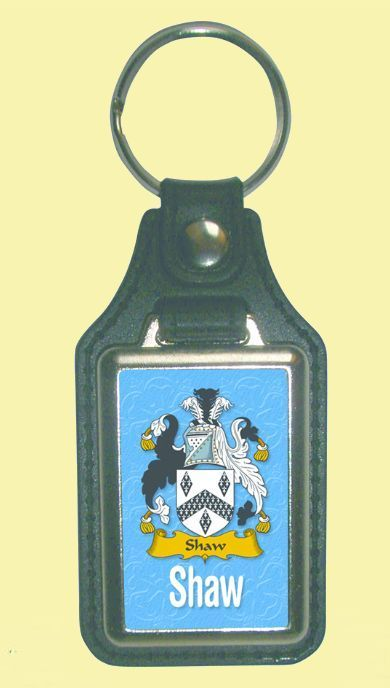 For Everything Genealogy - Shaw Coat of Arms English Family Name Leather Key Ring Set of 2, $24.00 (http://www.foreverythinggenealogy.com.au/shaw-coat-of-arms-english-family-name-leather-key-ring-set-of-2/)
