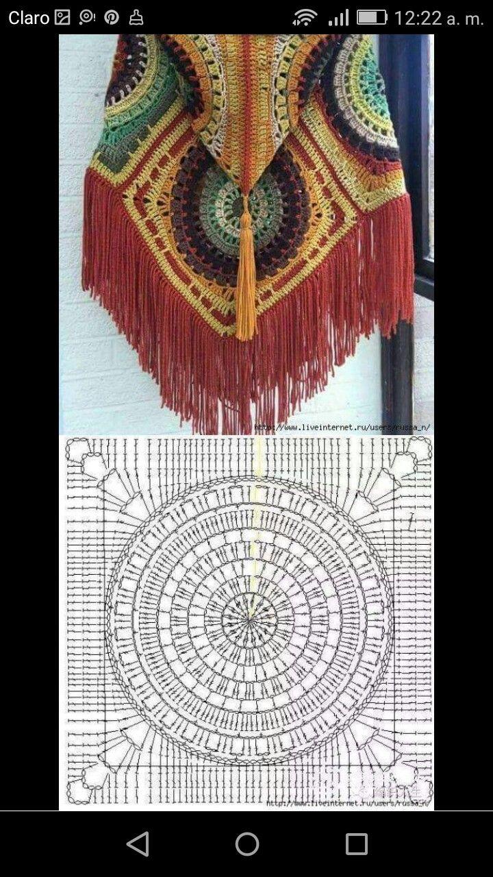 Pin de Antonieta Yañez en Crochet para mujer   Pinterest   Para ...