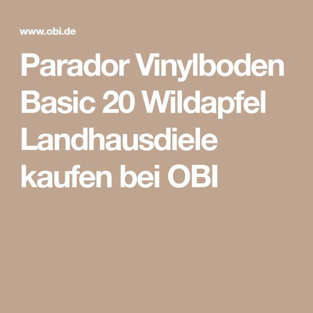 Parador Vinylboden Basic 20 Wildapfel Landhausdiele kaufen bei OBI