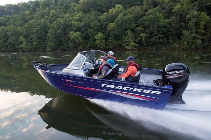 Tracker Boats Deep V Boats 2018 Pro Guide V 175 Wt Description Aluminum Fishing Boats Boat Tracker Boats