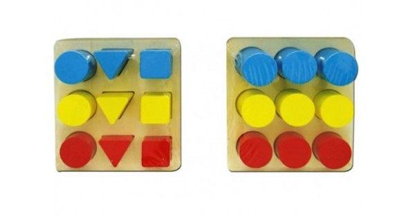 Ahşap renkli geometrik bloklar çocuklarınızın el ve göz koordinasyonunu sağlar. Ahşap renkli geometrik bloklar el becerilerinin ve zekasının gelişimine yardımcı olur . Algılama ve kavrama yeteneğini geliştirir . Çocuğunuzun hayal gücünün gelişimine faydal