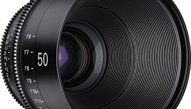 Rokinon XEEM 50mm Cine Lens  Samyang/Rokinon are Coming Out with a Set of True Cine Prime Lenses http://nofilmschool.com/2015/08/samyang-rokinon-xeen-set-cine-prime-lenses #filmmaking #indiefilm #cinematography