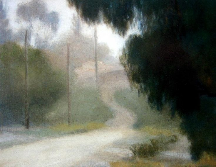 Clarice Beckett | Paintings - Clarice Marjoribanks Beckett - Page 2 - Australian Art ...