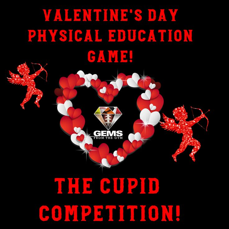 Physical Education Games / Physical Education / Games / Warm-up Games / Elementary / PE / Skills / Posters / Bulletin Boards / Unity / Assessment / Rubrics / Rubric / Lesson Plans / Holiday / Thanksgiving / Volleyball / javelin / olympics / Valentine's Day   https://www.teacherspayteachers.com/Product/Valentines-Day-Physical-Education-Game-The-Cupid-Competition-3623956