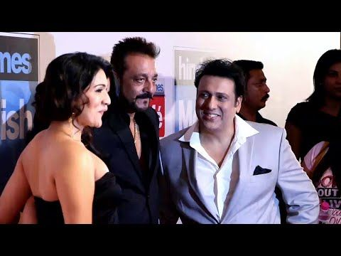 TARA SITARA Sanjay Dutt & Govinda at HT Most Stylish Awards 2016.