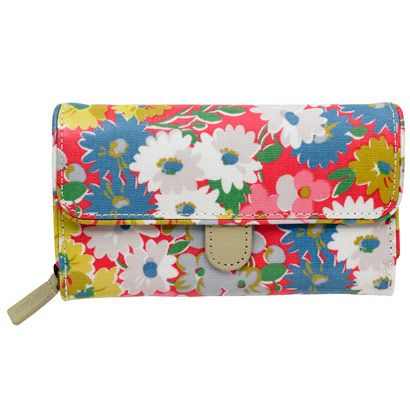 Daisy Bed Folded Trimmed Wallet   Cath Kidston  