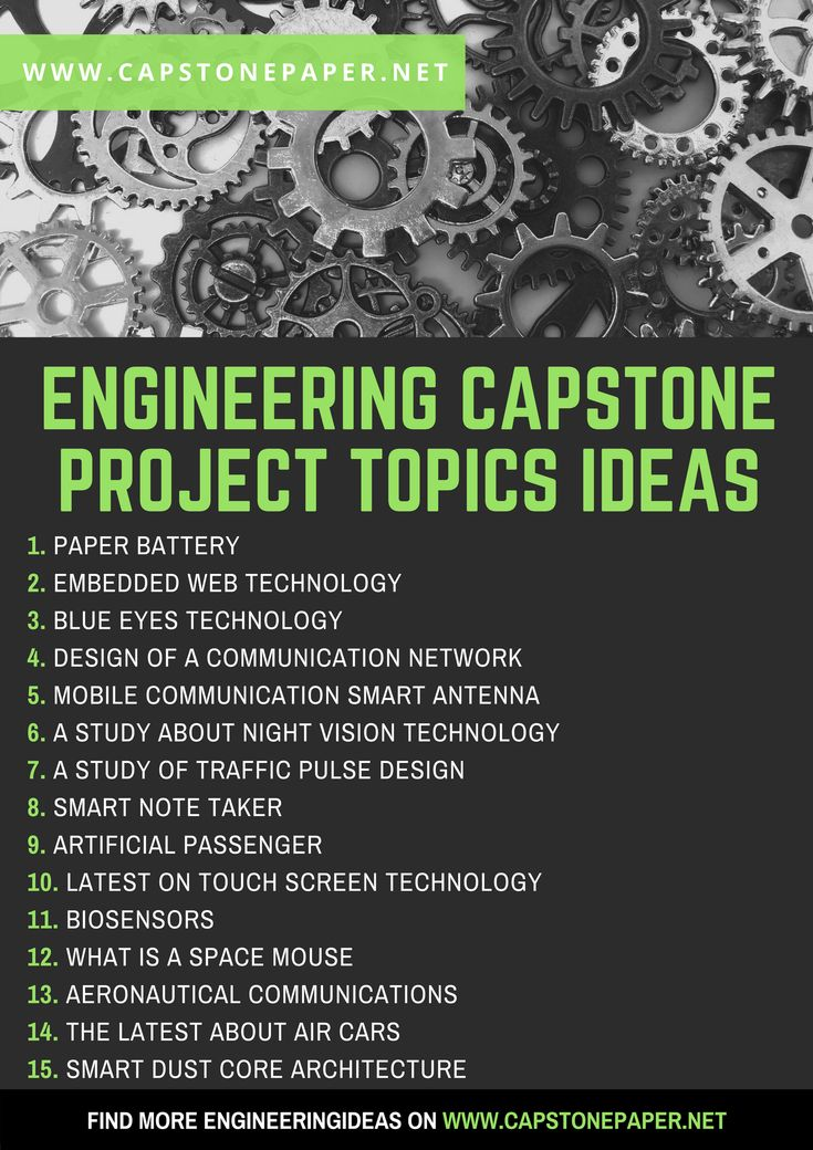 topics for capstone project A review of online vehicle rental systems check more technology capstone project ideas  engineering capstone research topics 1 contracts of construction projects 2 the development of integrated management system for choosing equipment and method to use for excavation irrigation 3.