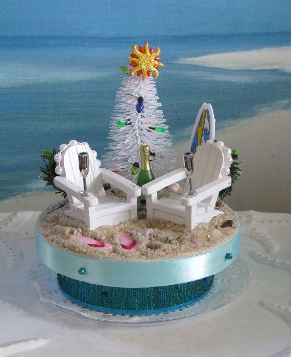 custom order beach christmas tree adirondack chairs trees christmas trees and wedding. Black Bedroom Furniture Sets. Home Design Ideas