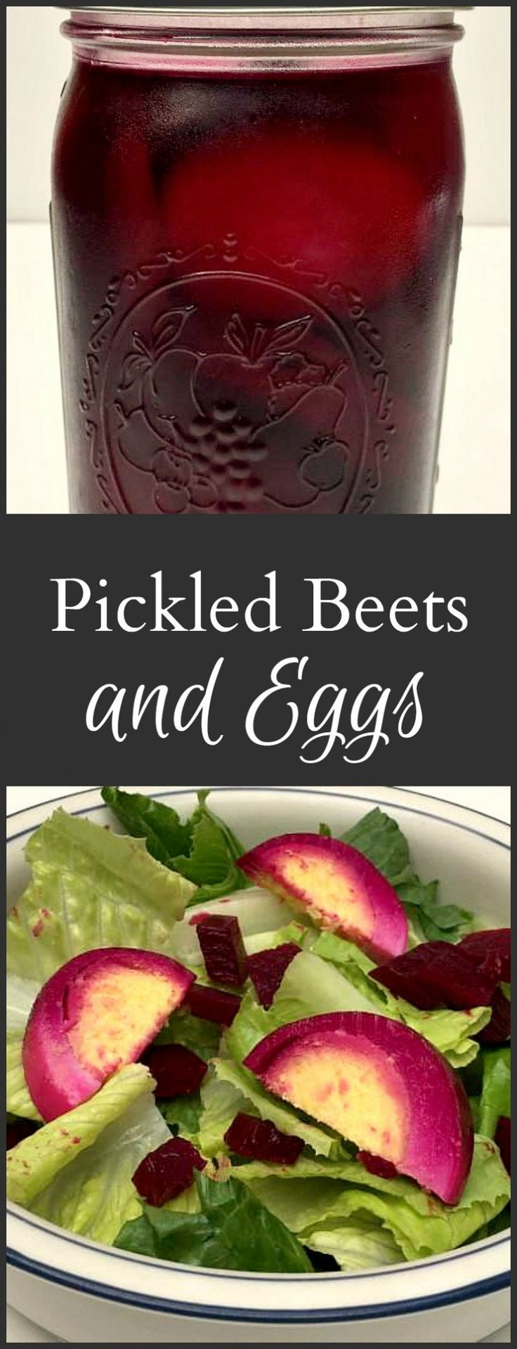 Here's a recipe for pickled beets eggs from Pennsylvania Dutch origins. Tasty, beautiful and easy to make. Use in salads or simply as a snack.- gardenmatter.com