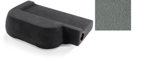 JL Audio SB-N-TTNCRW/10W1v3/GA:Stealthbox® for 2004-2007 Nissan Titan Crew Cab with Sand/Steel interior