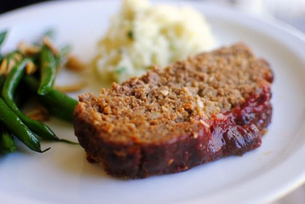 Homestyle Meatloaf - replace onion & garlic with infused oil and use homemade ketchup for FODMAP